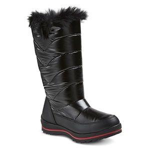 new Girls Winter Snow Boot sz. 2 Cat & Jack Nicole